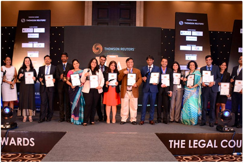 This recognition from TrustLaw (Thomson Reuters Foundation) was received by LawQuest in 2016 for 'Outstanding Contribution to Advance Pro Bono India'.